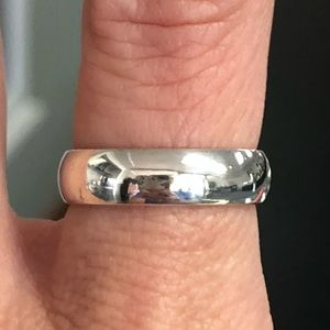 925 Sterling Silver Comfort Fit Wedding Band